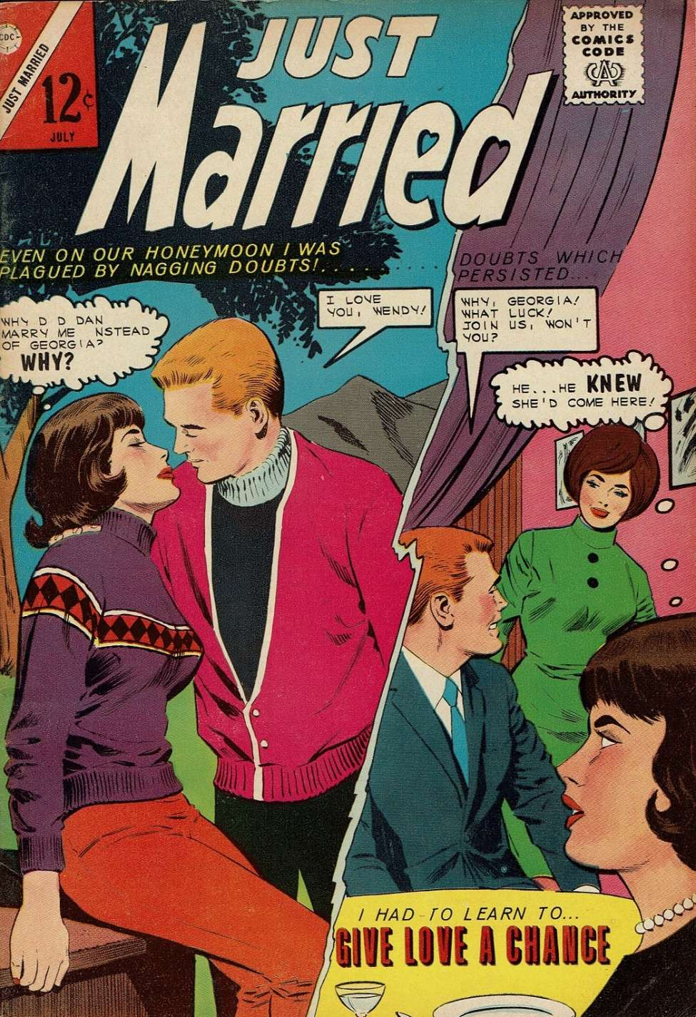 Comic Book Cover For Just Married #37