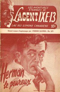 Large Thumbnail For L'Agent IXE-13 v2 167 - Herman le peureux