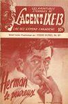 Cover For L'Agent IXE 13 v2 167 Herman le peureux