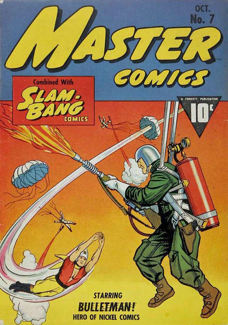 Comic Book Cover For Bulletman Archive Vol 01