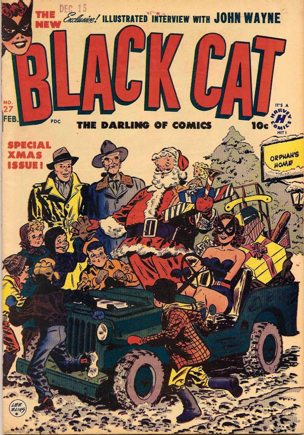 Comic Book Cover For Black Cat #27