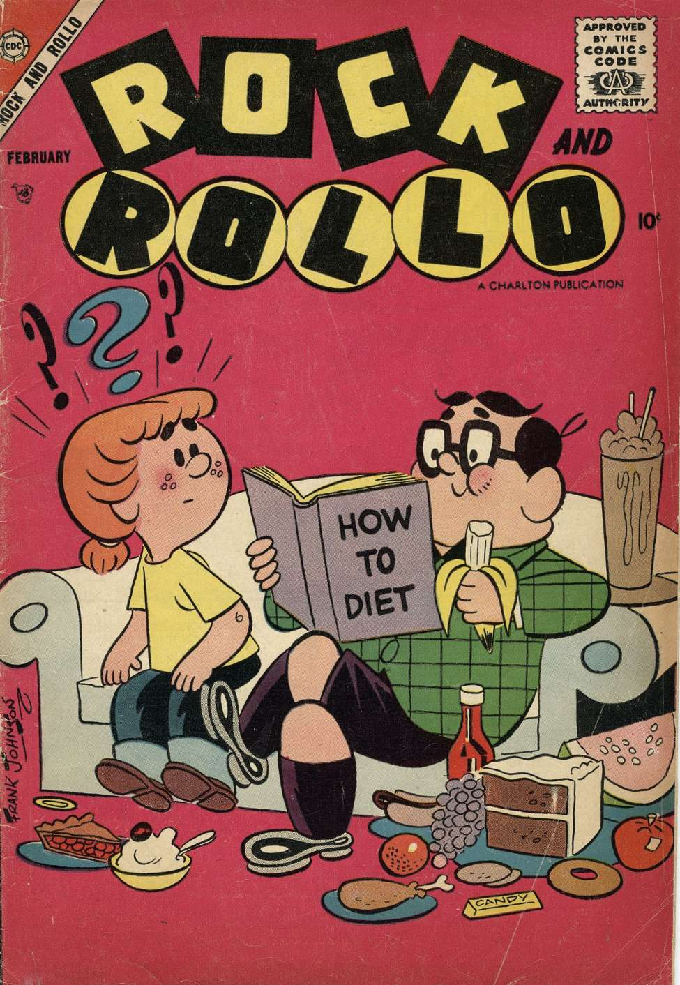 Comic Book Cover For Rock and Rollo #16