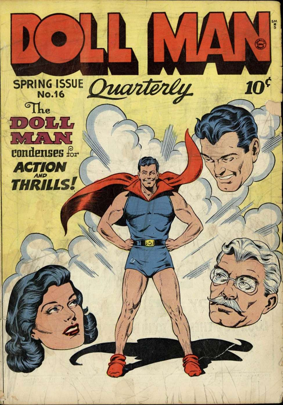 Comic Book Cover For Doll Man #16