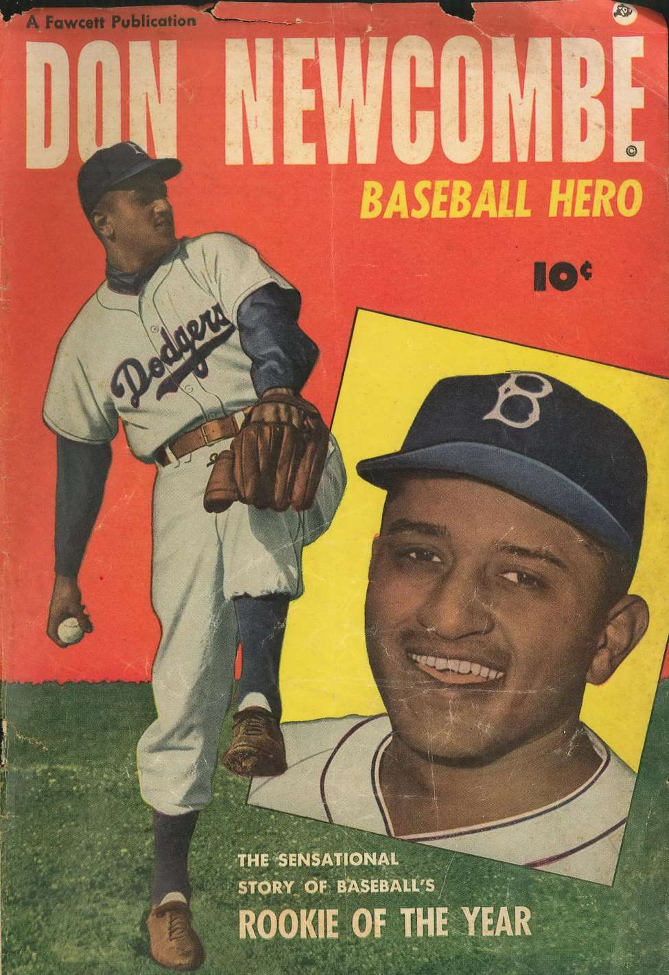Comic Book Cover For Don Newcombe - Version 1