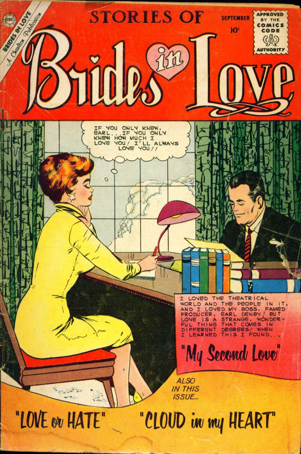 Comic Book Cover For Brides in Love #20