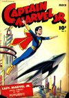 Cover For Captain Marvel Jr. 17