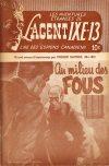 Cover For L'Agent IXE 13 v2 183 Au milieu des fous