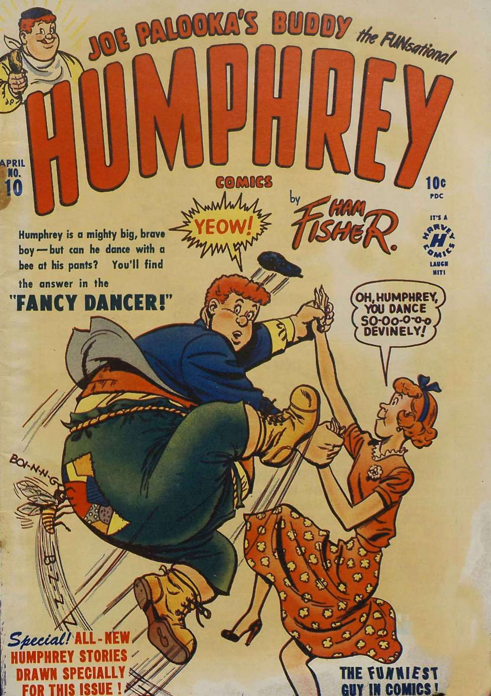 Comic Book Cover For Humphrey Comics #10