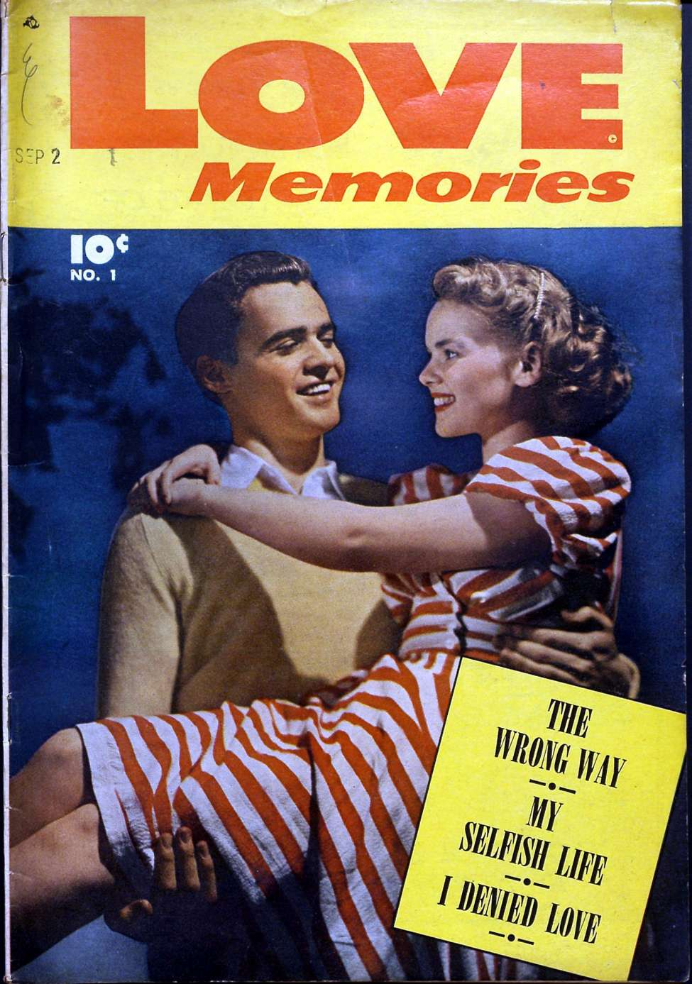 Comic Book Cover For Love Memories #1