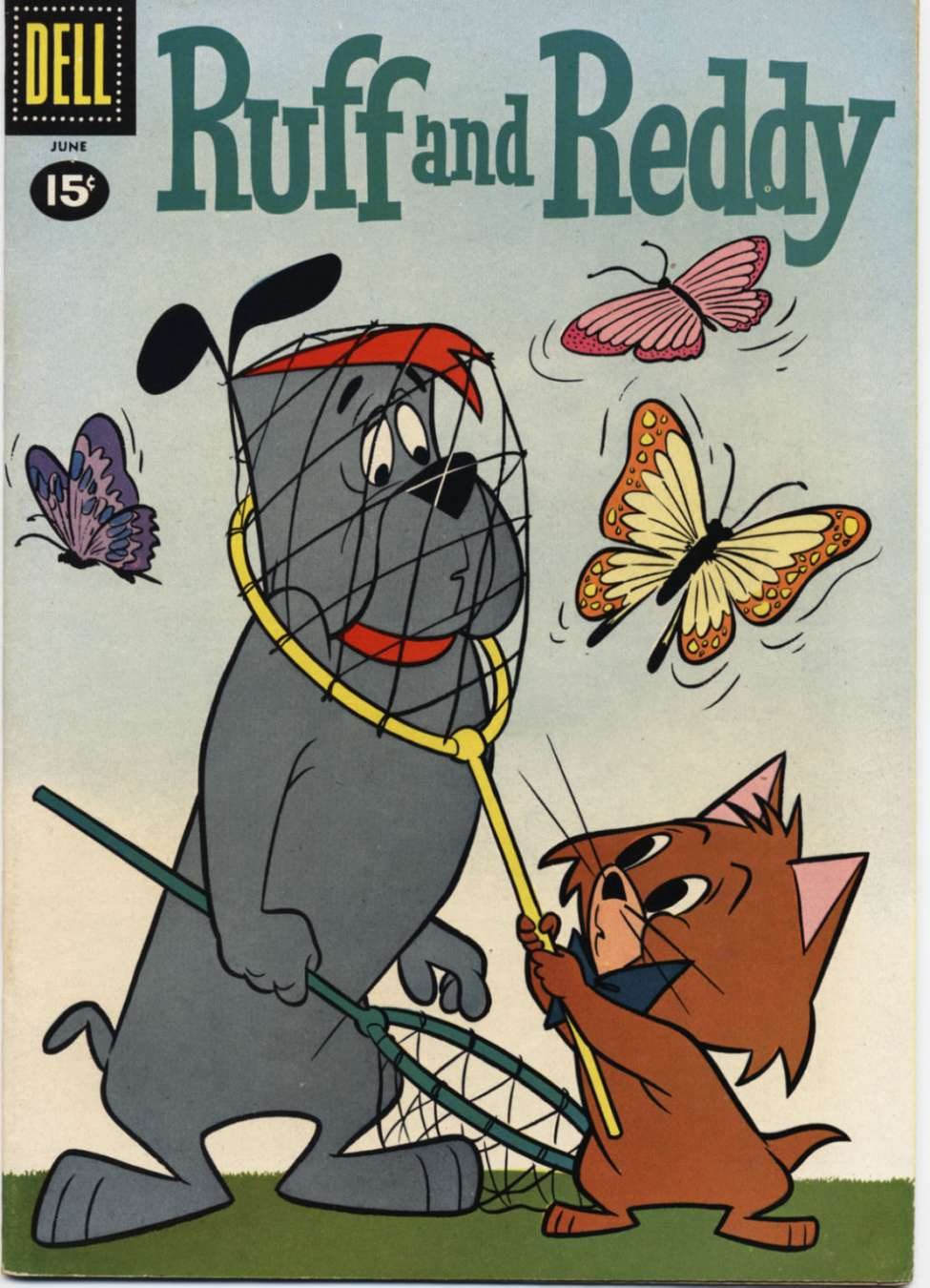Comic Book Cover For Ruff and Reddy 09