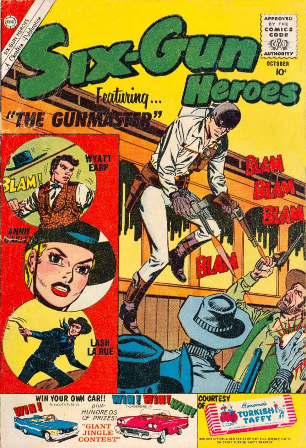 Comic Book Cover For Six-Gun Heroes #59