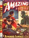 Cover For Amazing Stories v19 1 I Remember Lemuria! Richard S. Shaver