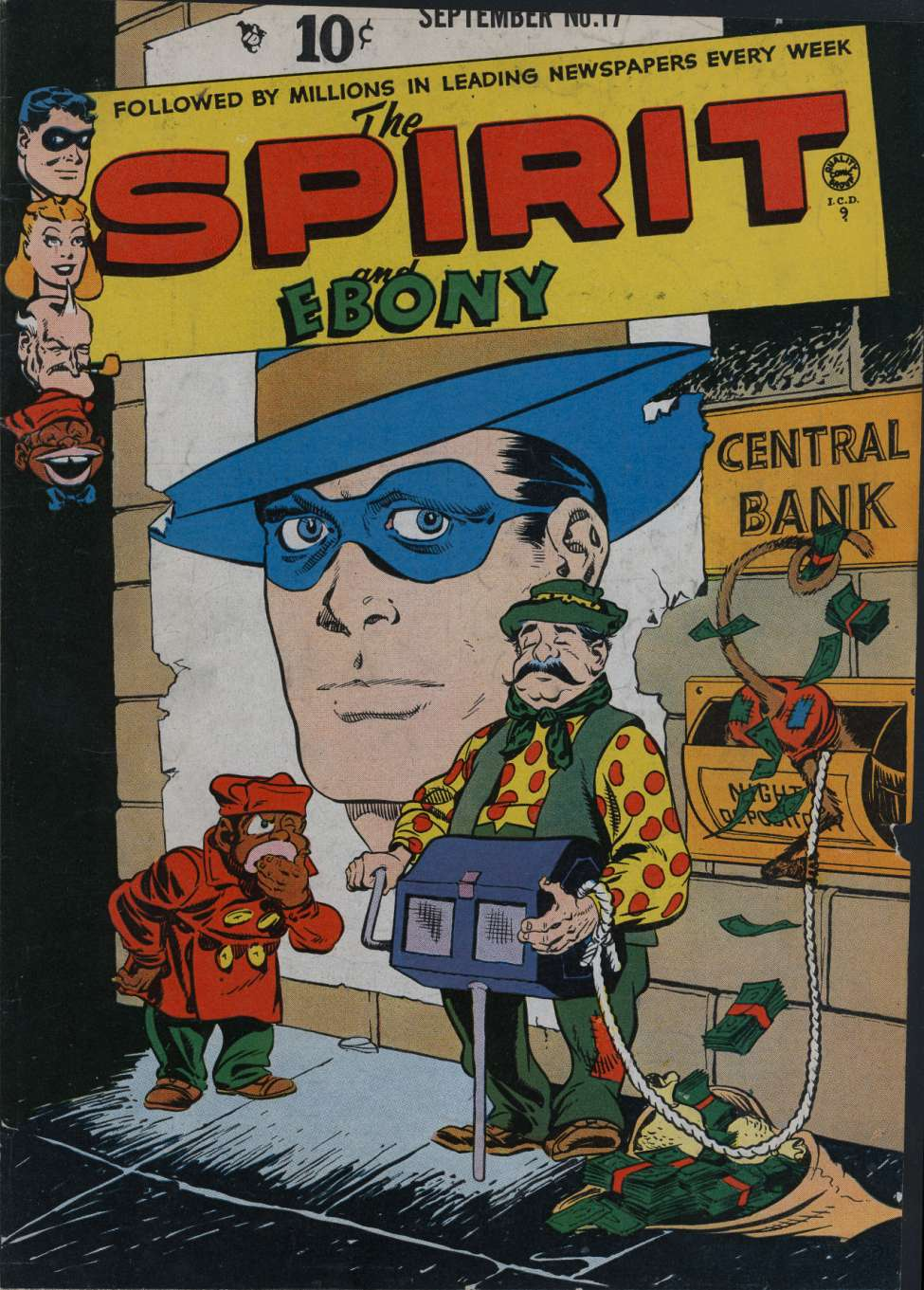 Comic Book Cover For The Spirit #17