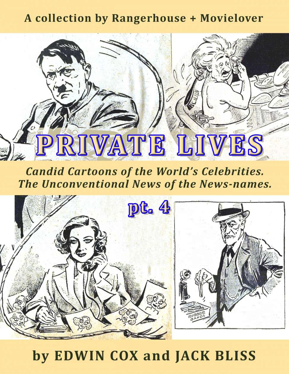 Comic Book Cover For Private Lives pt.4