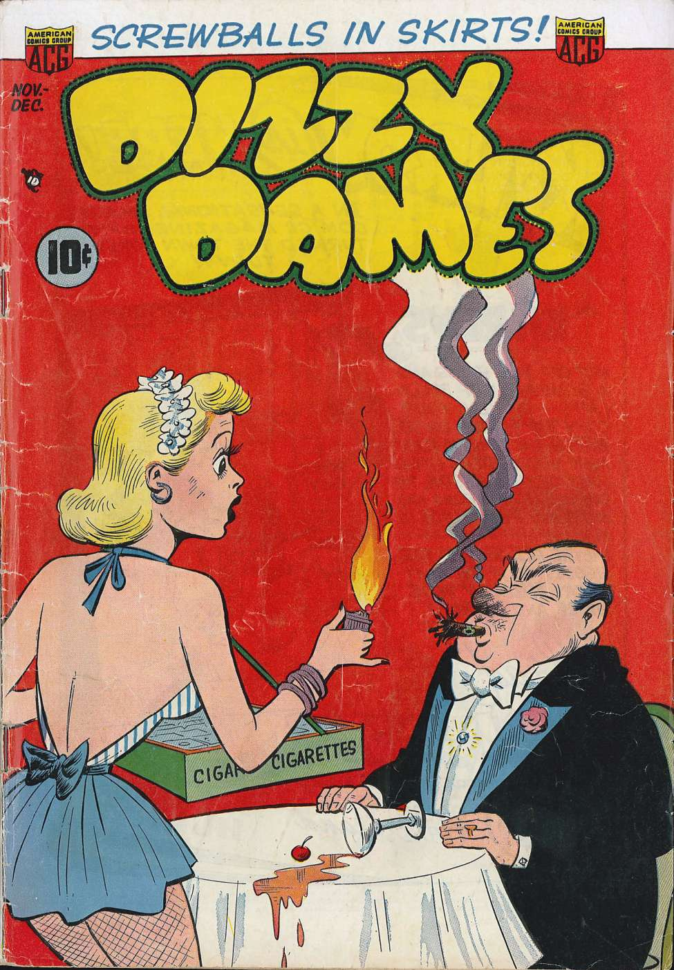 Comic Book Cover For Dizzy Dames #2