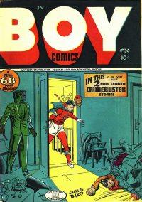 Large Thumbnail For Boy Comics #30
