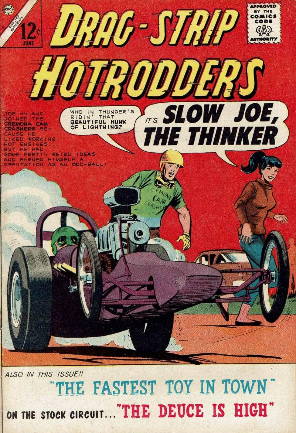 Drag-Strip Hotrodders #4 (Charlton) - Comic Book Plus