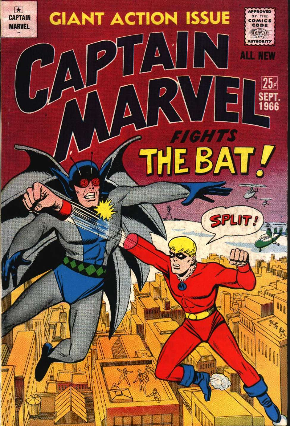 Comic Book Cover For Captain Marvel 3