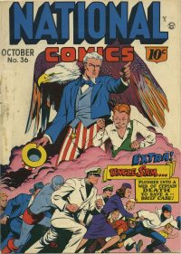 Large Thumbnail For National Comics #36