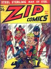 Cover For Zip Comics 26