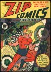 Cover For Zip Comics 2