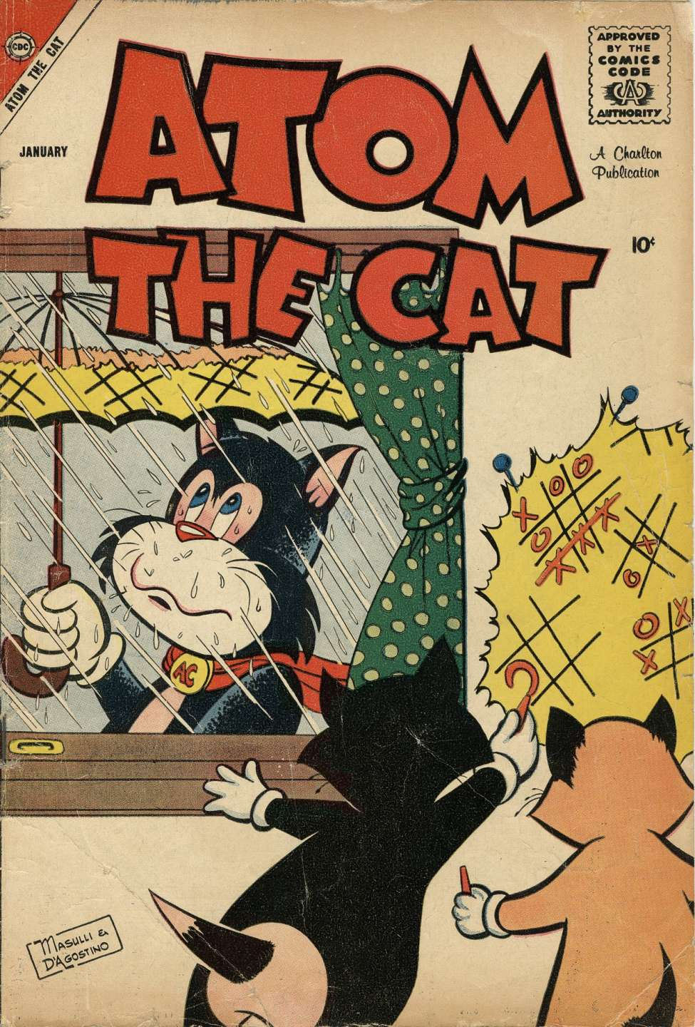 Comic Book Cover For Atom the Cat #14