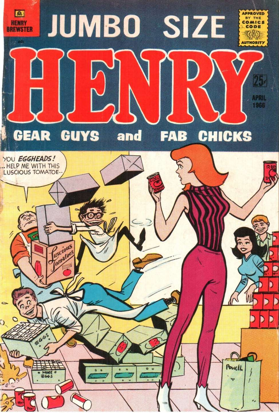 Comic Book Cover For Henry Brewster 2