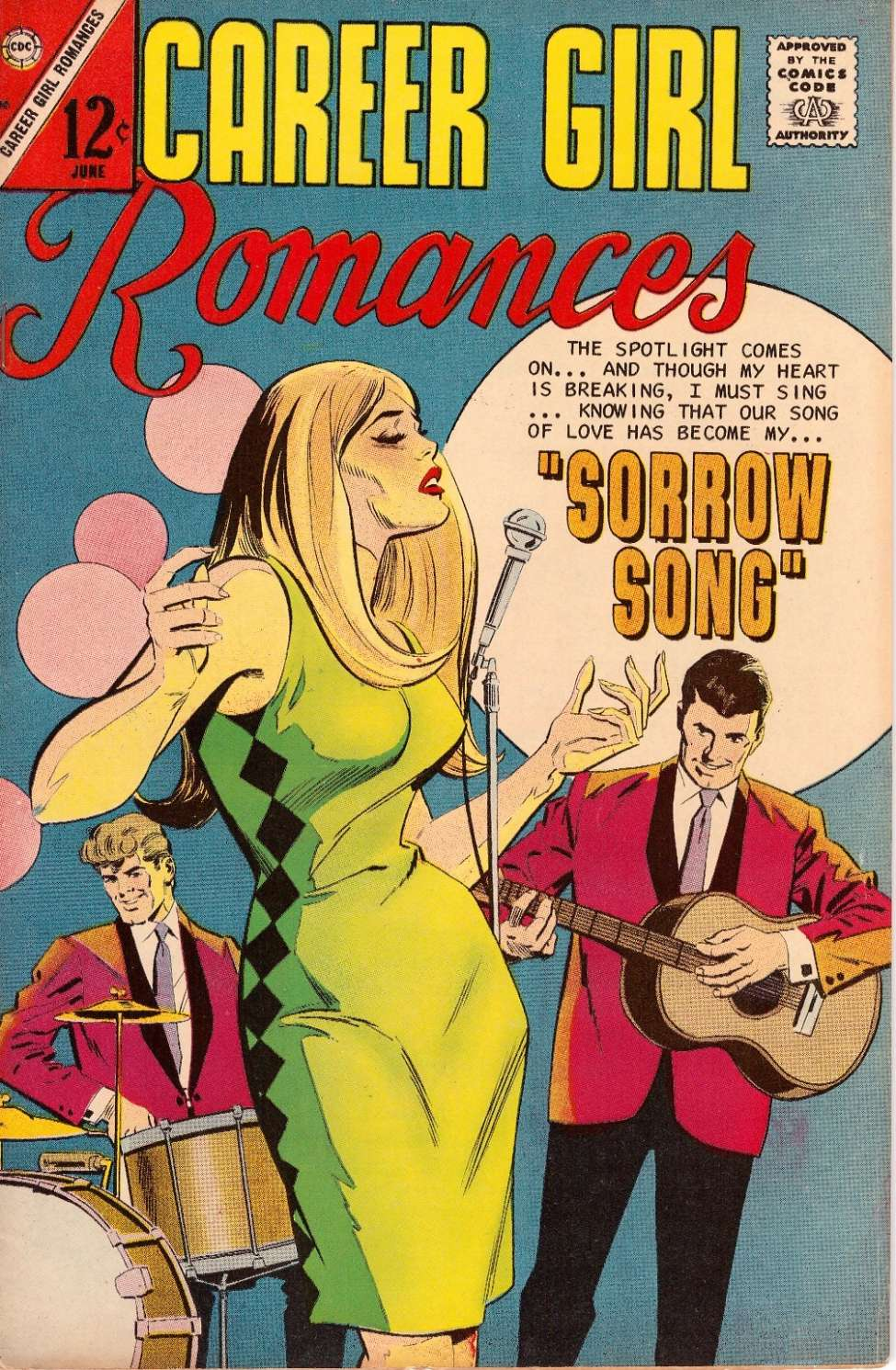 Comic Book Cover For Career Girl Romances #40