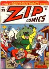 Cover For Zip Comics 35