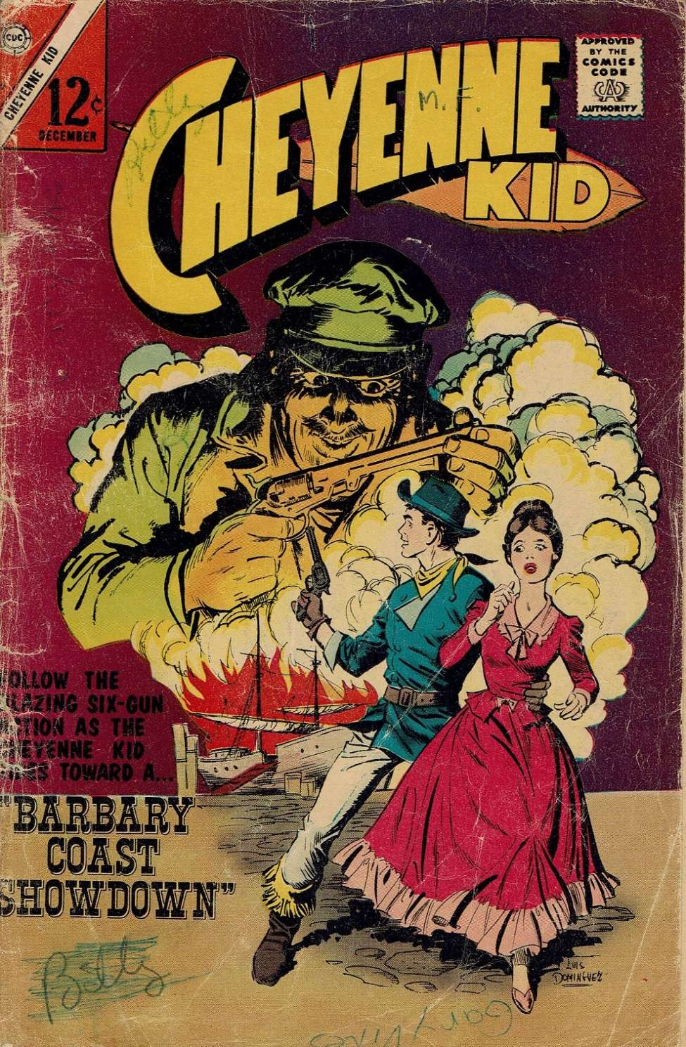 Comic Book Cover For Cheyenne Kid #59