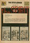 Cover For The Spirit (1949 3 13) Star Ledger