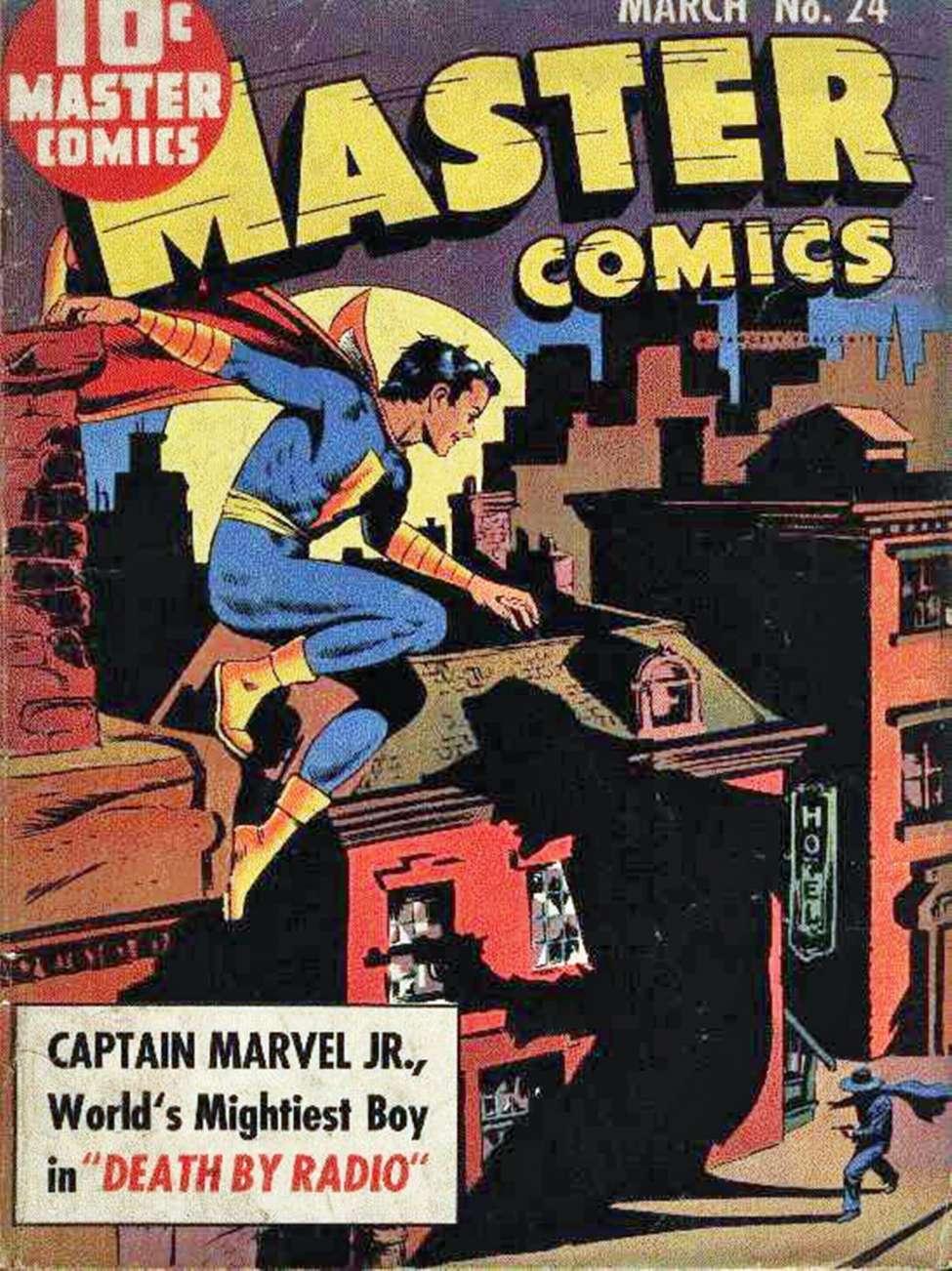 Comic Book Cover For Capt. Marvel Jnr Compilation Vol 01