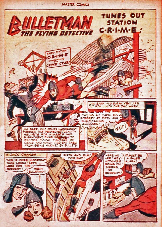 Comic Book Cover For Bulletman Archive Vol 16