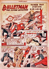 Large Thumbnail For Bulletman Archive Vol 16