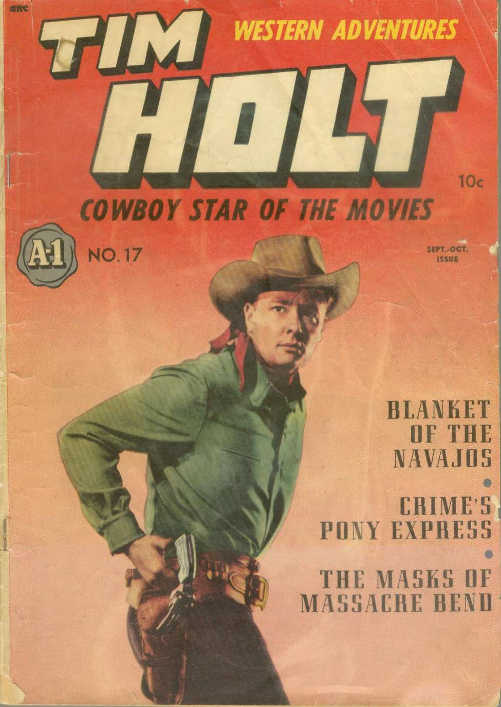 Comic Book Cover For Tim Holt 2 [A-1 #17]