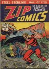 Cover For Zip Comics 6