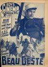 Cover For Boy's Cinema 1035 Beau Geste Gary Cooper