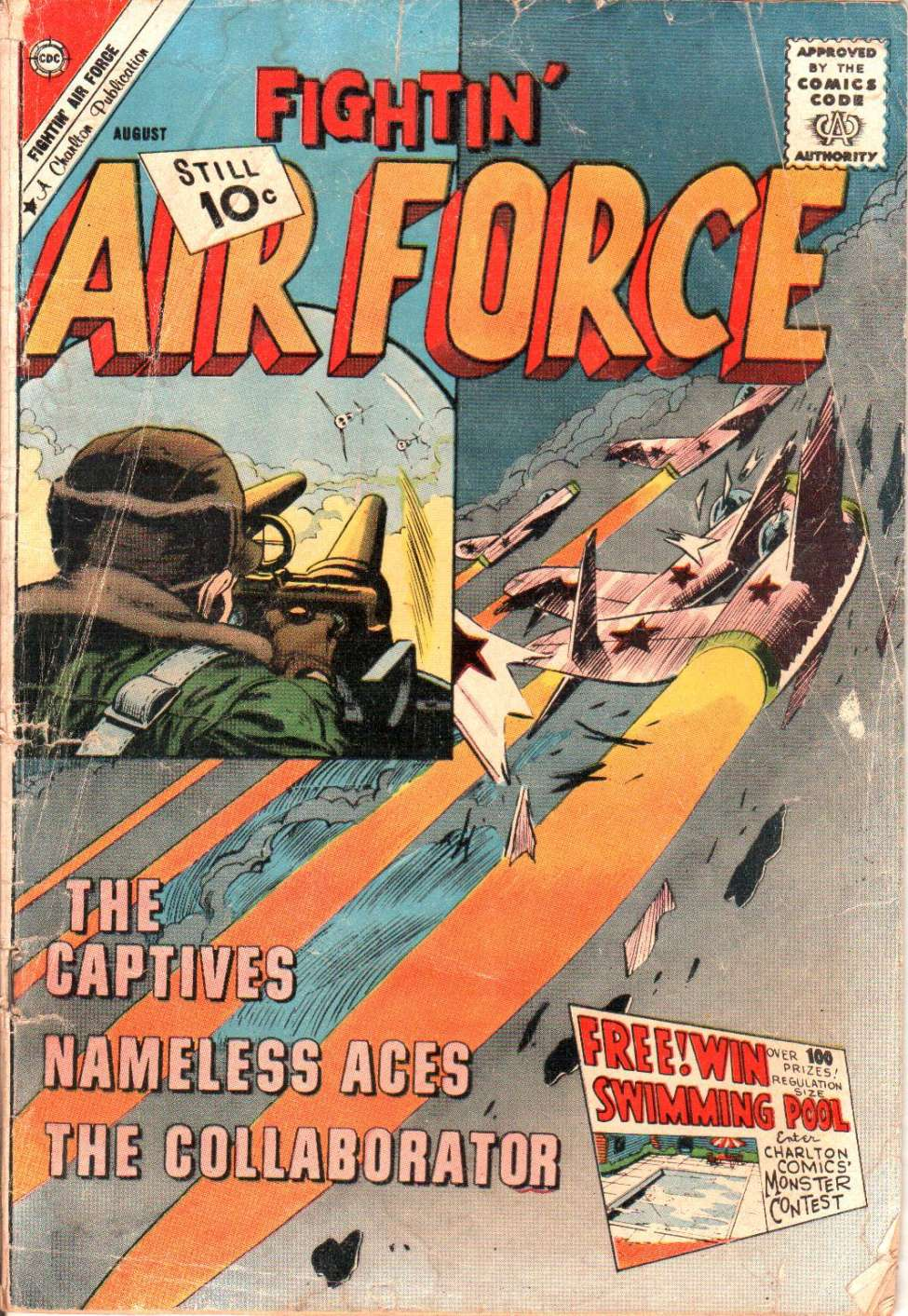 Comic Book Cover For Fightin' Air Force #28