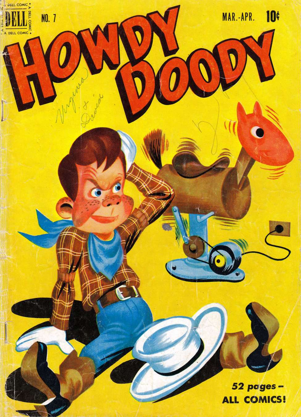 Comic Book Cover For Howdy Doody #7