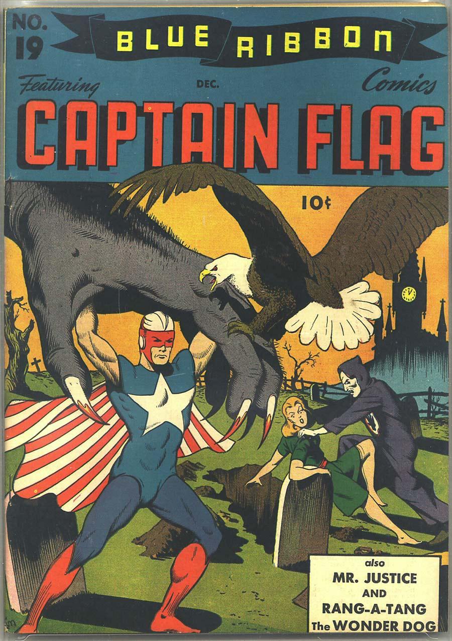 Comic Book Cover For Blue Ribbon Comics #19
