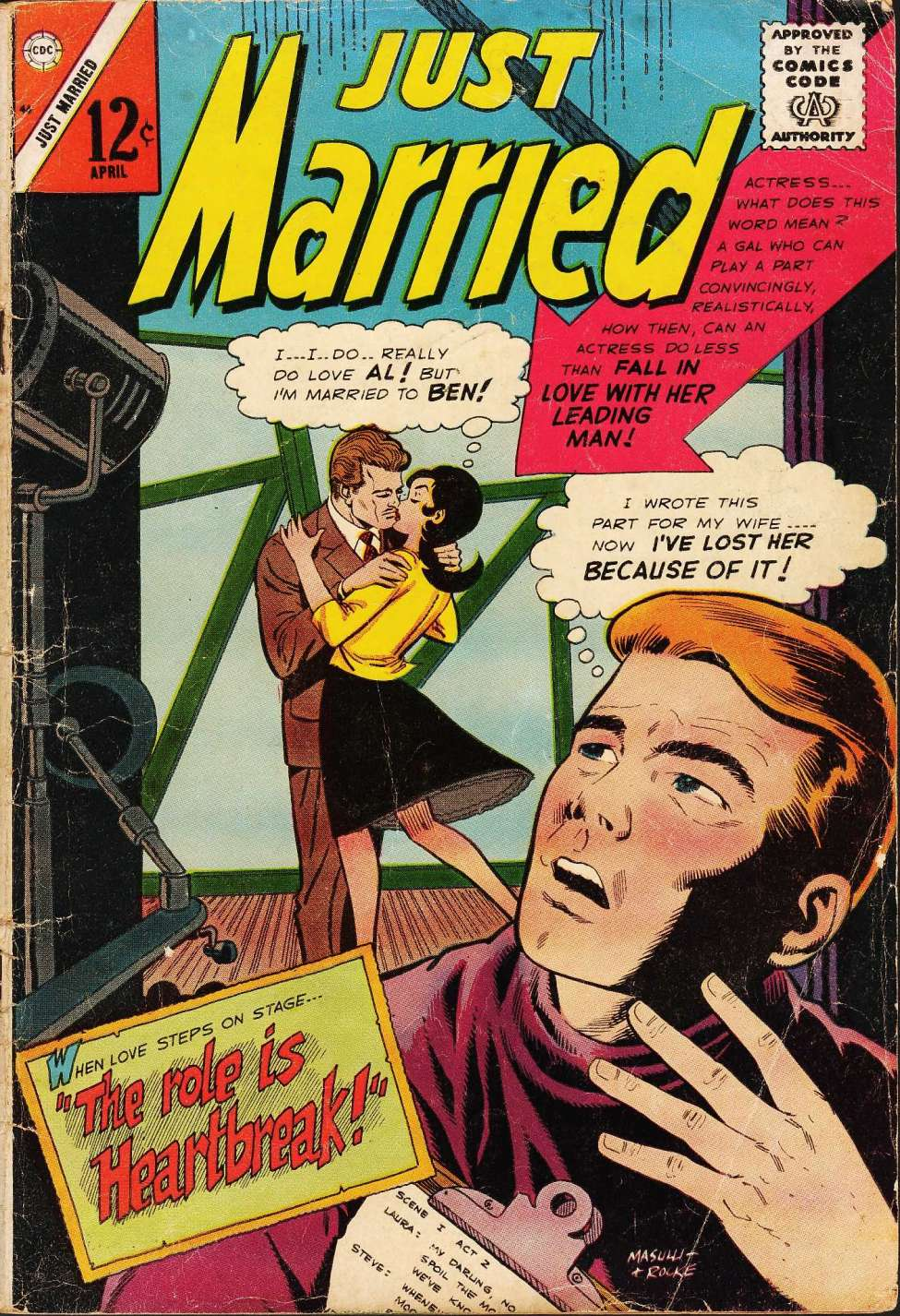 Comic Book Cover For Just Married #46