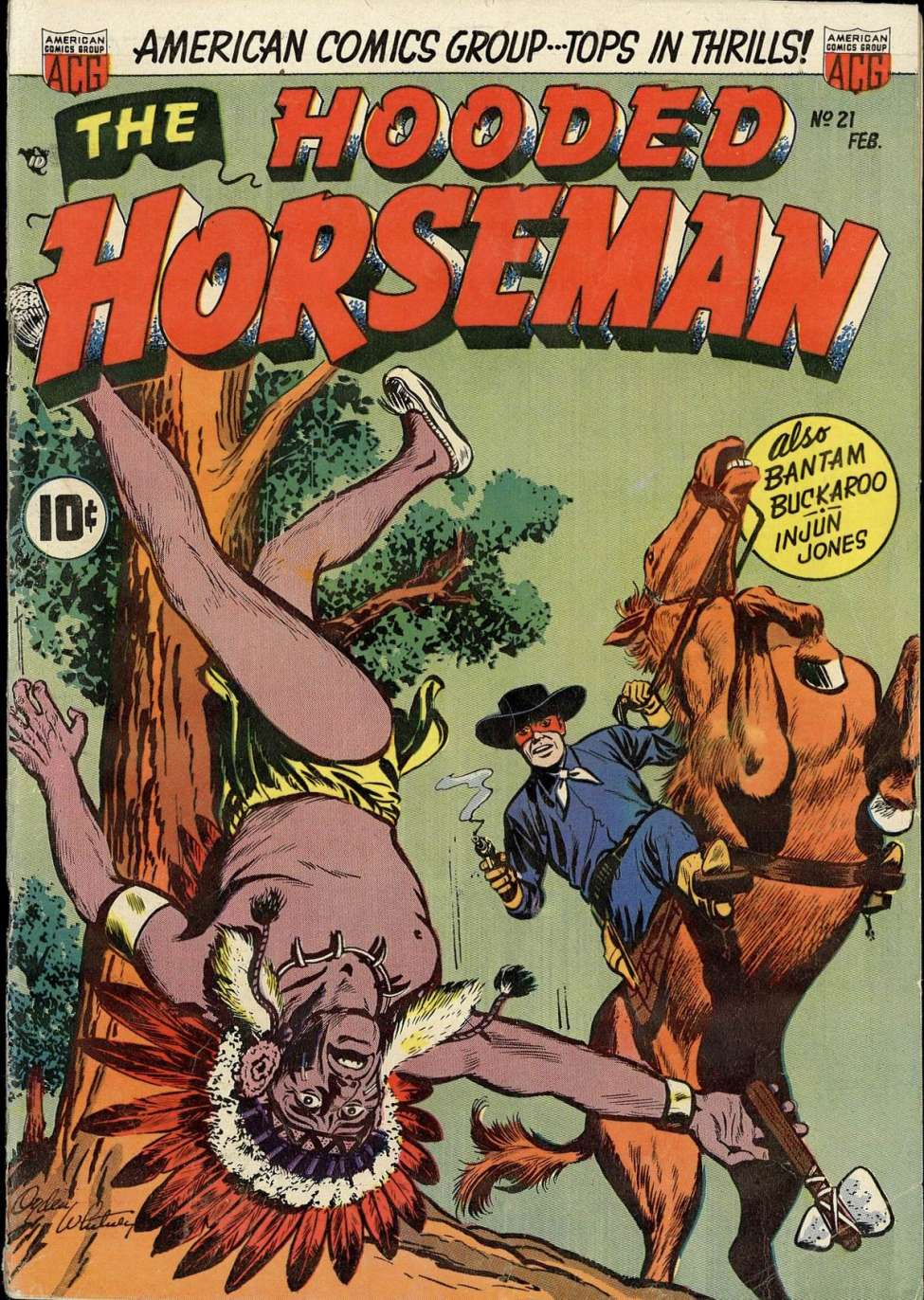 Comic Book Cover For The Hooded Horseman #21
