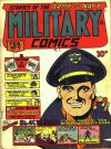 Cover For Military Comics 7