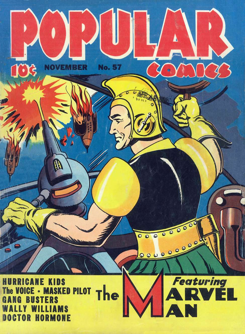 Comic Book Cover For Popular Comics #57 - Version 1