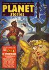 Cover For Planet Stories v5 3 The Pit of Nympthons Stanley Mullen