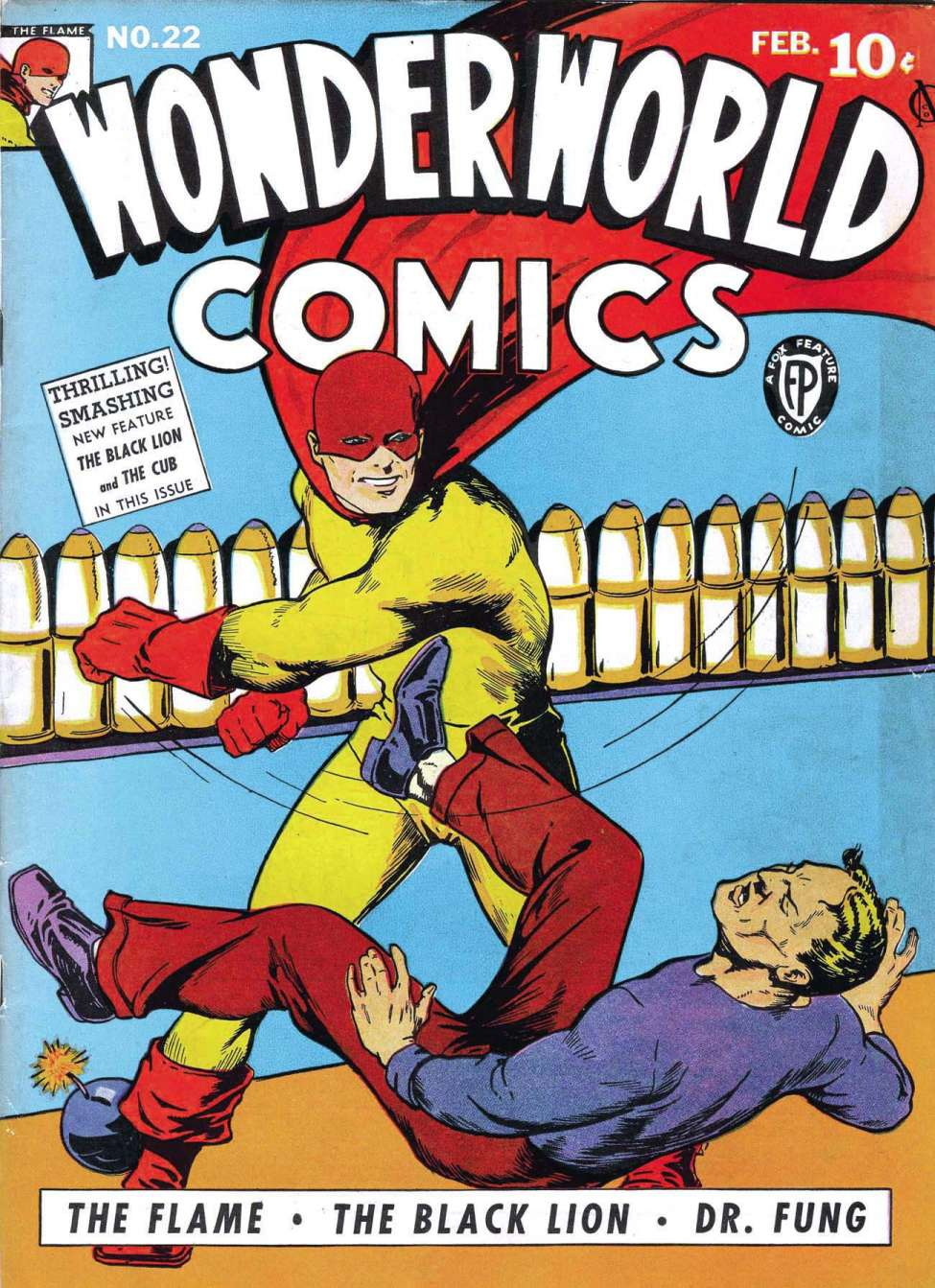 Comic Book Cover For Wonderworld Comics #22