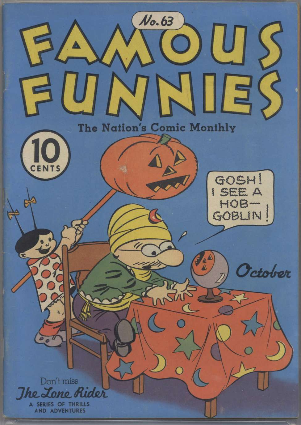 Comic Book Cover For Famous Funnies #63