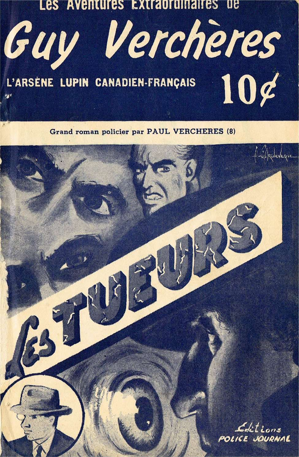 Comic Book Cover For Guy-Vercheres v2 08 - Les tueurs