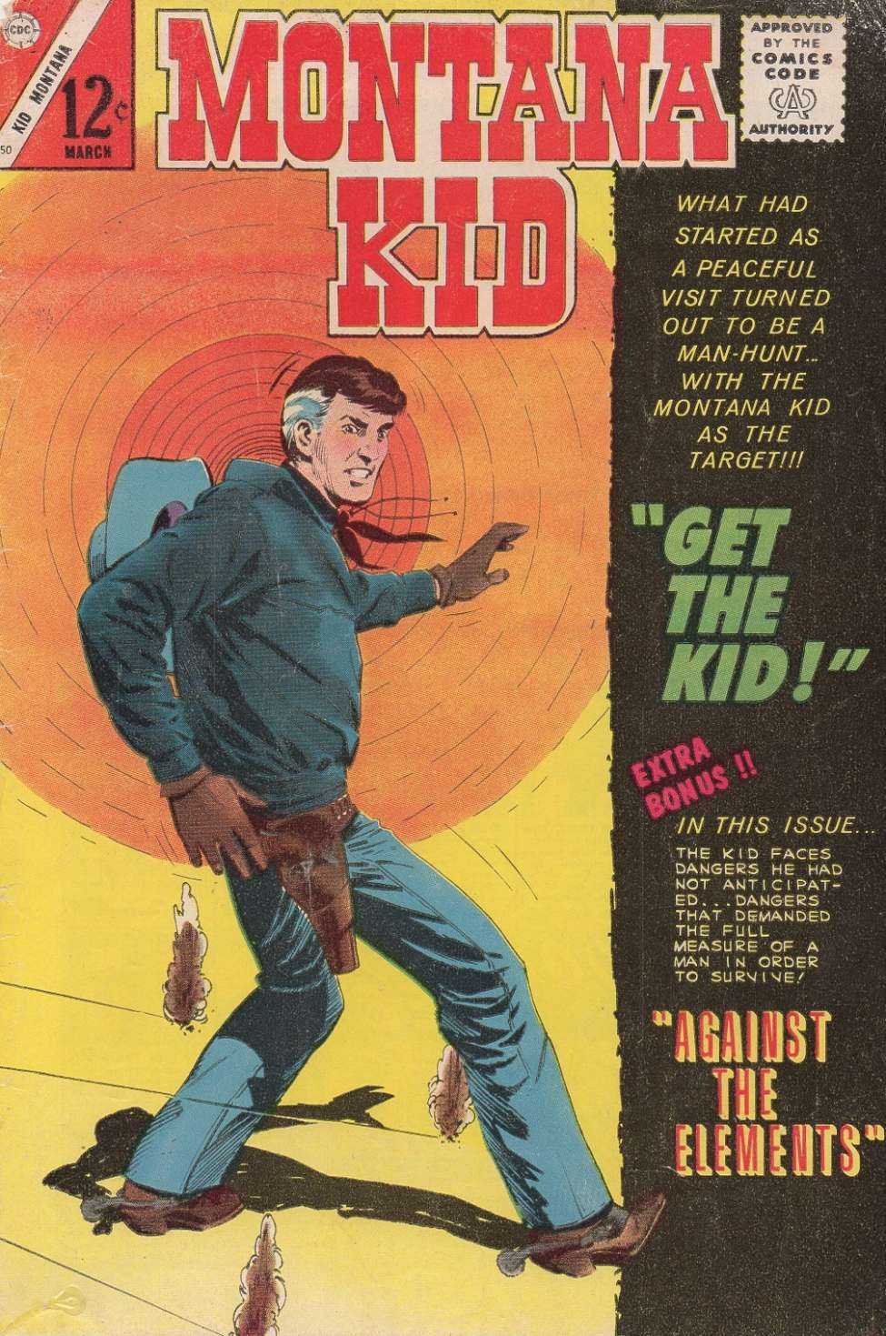 Comic Book Cover For Kid Montana #50