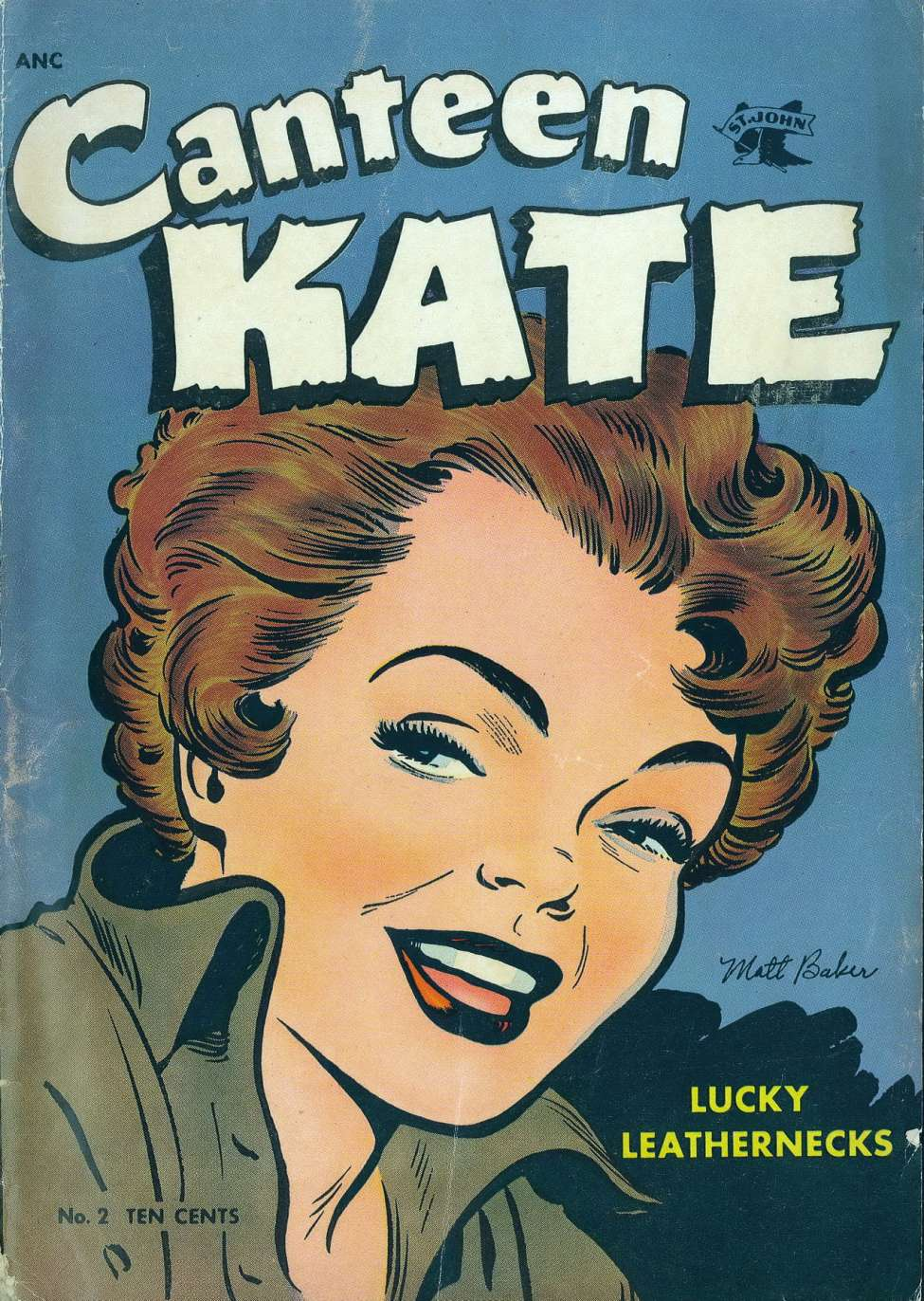 Comic Book Cover For Canteen Kate #2